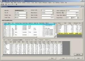 Online Blend Monitoring