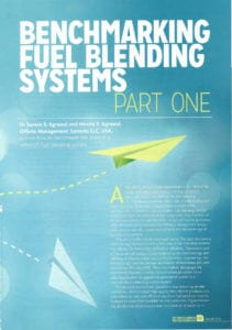 Benchmark the State of  A Refinery's Fuels Blending System?  Part-I Methodology.