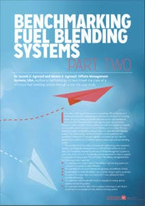 Benchmark the State of  A Refinery's Fuels Blending System?  Part-2  case study